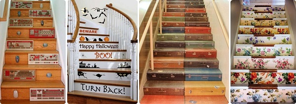 escaleras decoradas DIY