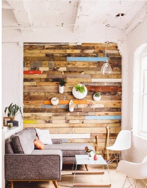 Ideas para decorar paredes 78 tips sorprendentes - Decoracion de madera para paredes ...