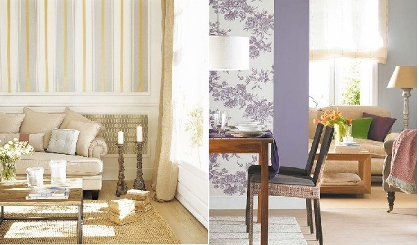 Ideas para decorar paredes - Ideas paredes salon ...