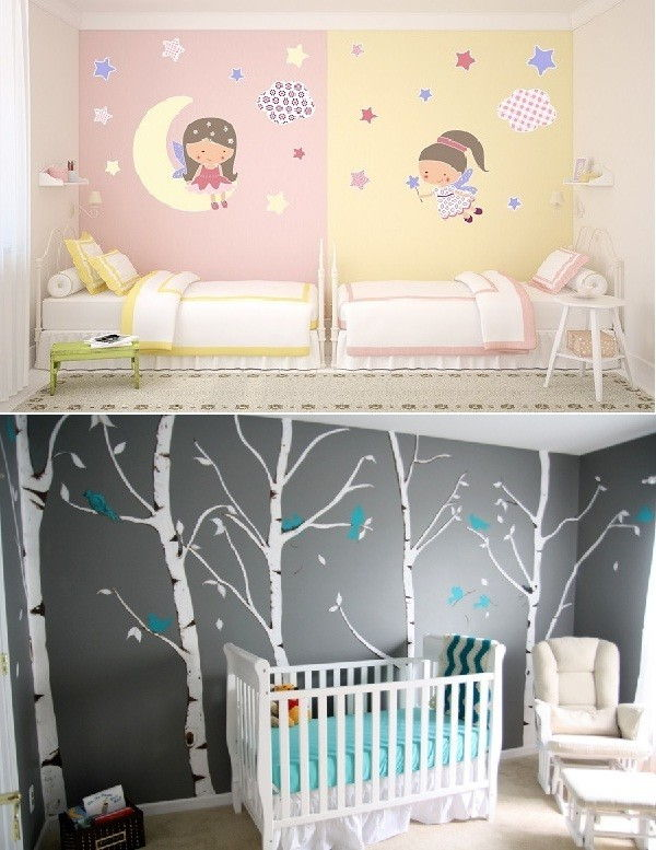 Ideas Para Decorar Paredes 78 Tips Innovadores Y Faciles - Decoracin-paredes-infantiles