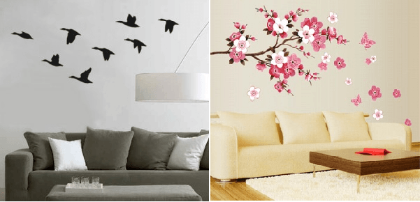 Ideas para decorar paredes for Vinilos pared originales