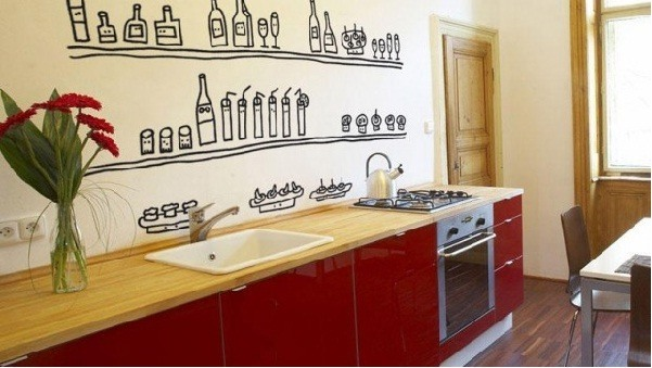 Ideas para decorar paredes 78 tips sorprendentes - Pintar paredes cocina ...