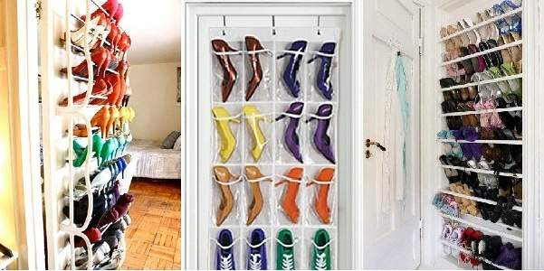 30 ideas originales para guardar y organizar tus zapatos for Muebles para acomodar zapatos