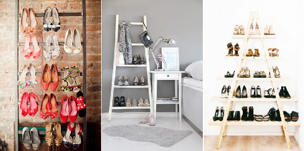 30 ideas originales para guardar y organizar tus zapatos for Ideas para zapateras