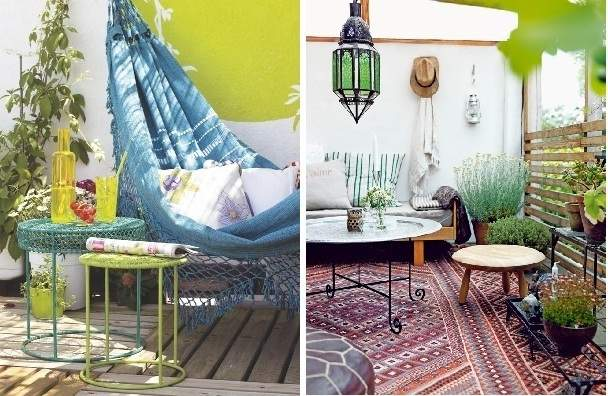 Ideas para terrazas decoraci n original para tus exteriores for Terraza chill out