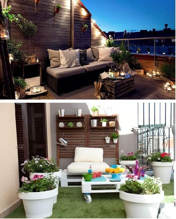 Ideas para terrazas decoraci n original para tus exteriores - Terraza chill out ...