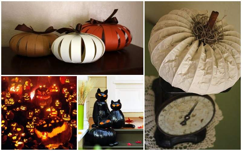 ideas para decorar tu casa con calabazas en halloween