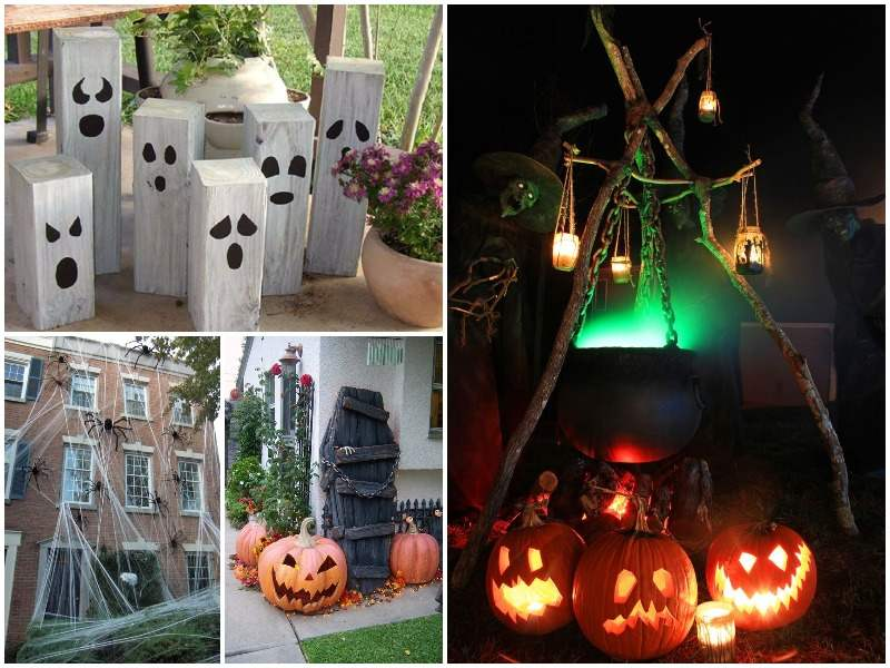 Decoracion de jardin para halloween - Decoracion casa halloween ...