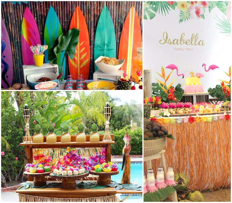 79 Ideas Para Celebrar Una Fiesta Hawaiana 100 Tropical 2019